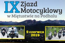 Czarny Dunajec Wydarzenie zlot motocyklowy IX Zjazd Motocyklowy w Miętustwie na Podhalu